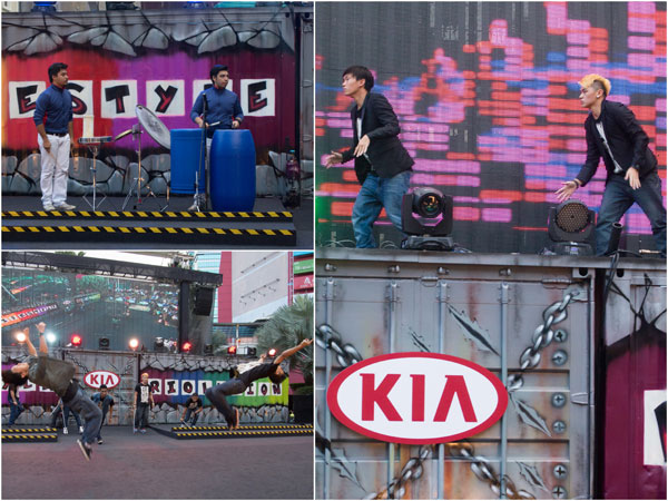 performances prior to the launch of Kia Rio