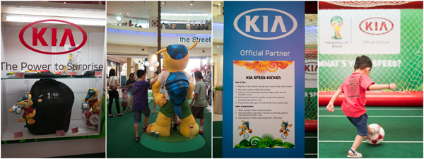 official merchandise, KIA speed kicker game