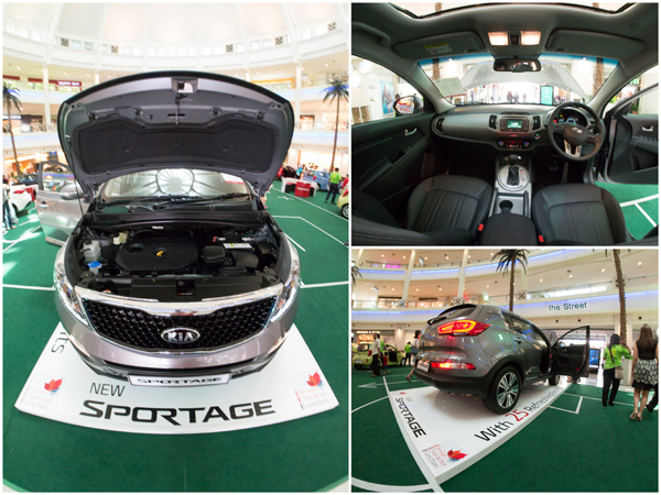 Kia Sportage comes in 5 colors