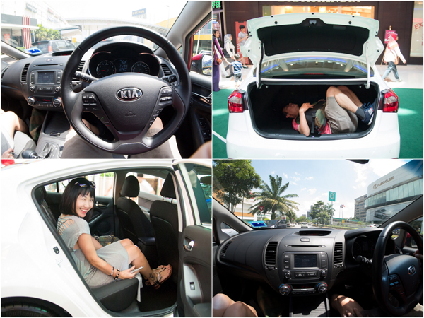 the Kia Cerato is rather spacious and comes with a host of features