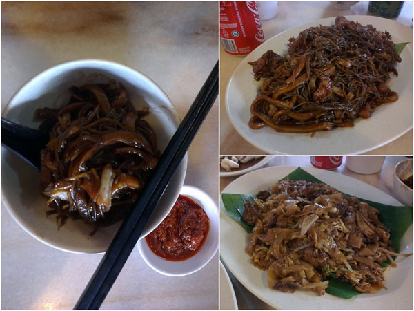 old school hokkien mee and fried hor fun