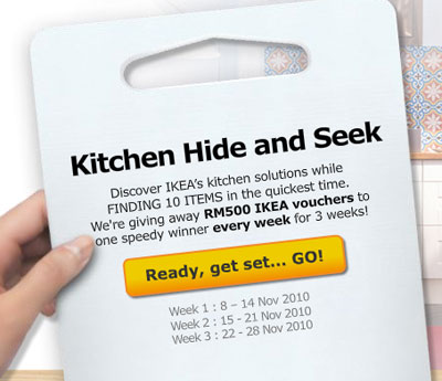 ikea kitchen hide and seek