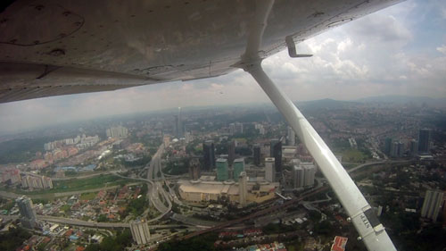 some 1500 feet below, we have midvalley