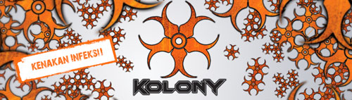 Kolony web sign at kolony.com.my