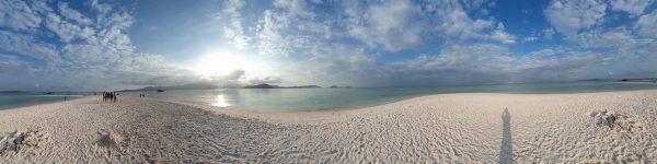 pink beach island