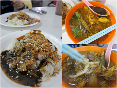 Penang Chee Cheong Fun &amp; Laksa