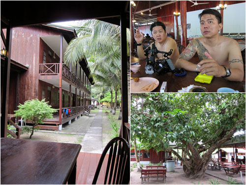 the resort at Lang Tengah