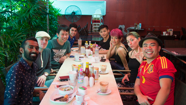 with some of the who's who including Nadia Heng, Liang, and Shawn Lee