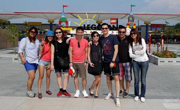 Joyce, Haze, Suan, Winnie, Gary, Shiang & friend