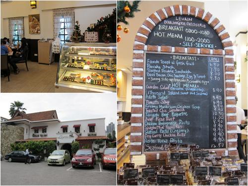 Levain Italian Restaurant at Imbi