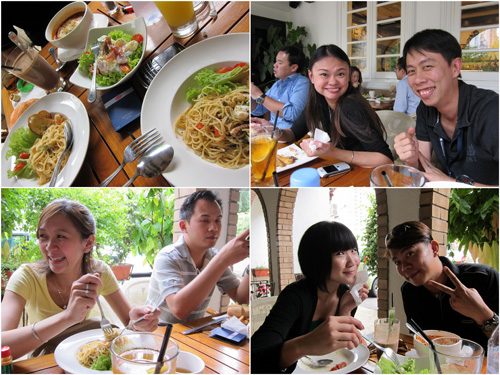 spaghetti, Mychelle, KY, Queen, Horng, Winnie, Terence