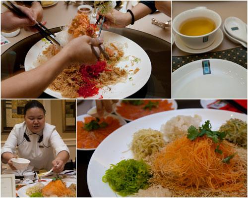 yee sang at Li Yen