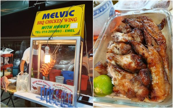 "melvic chicken wings is the ""brand"" to go"