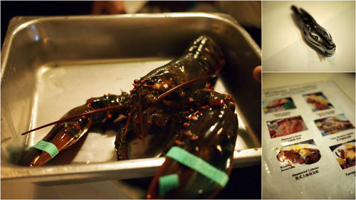this sweet lobster was our dinner, your life will be well delicious