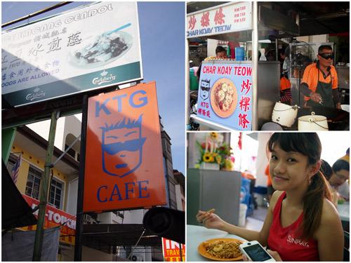 char kuih teow at KTG cafe, Lorong Selamat