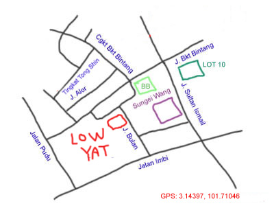 map to lowyat plaza