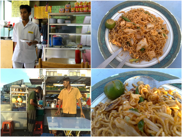 my favorite dishes at mamak - Maggi goreng
