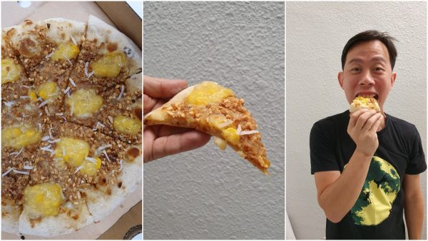 Apam Baling Balik Pizza, one of a kind