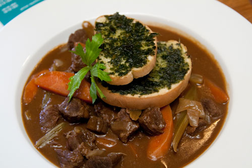 Guinness infused beef stew
