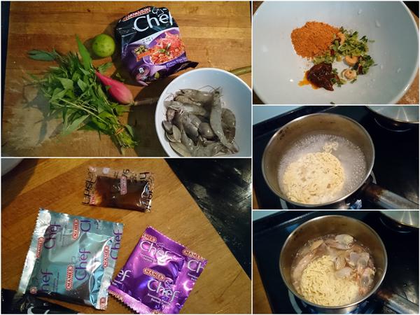 now lets upgrade this Mamee Chef perisa Thai tomyam