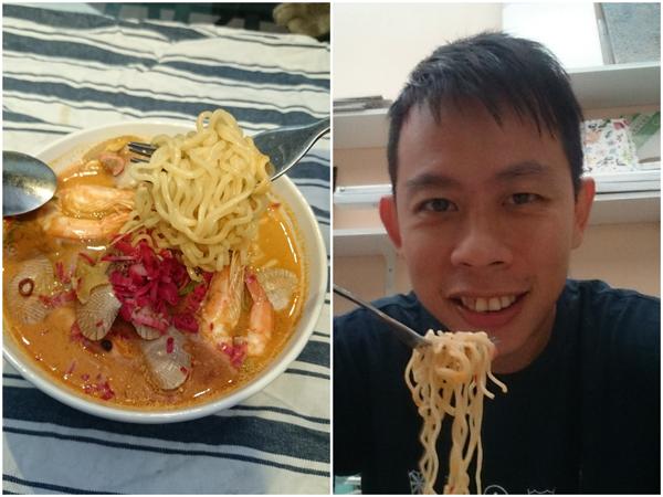 super upgraded instant noodle, om nom nom