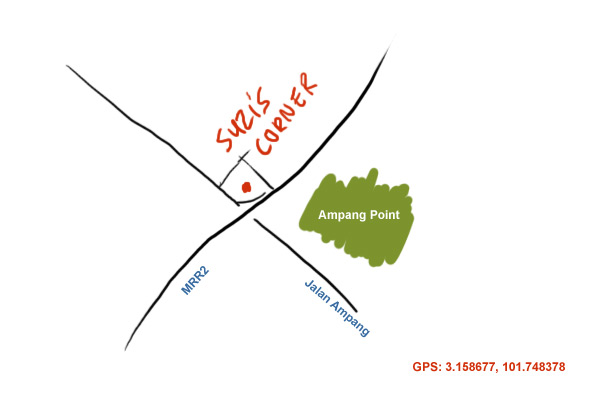 map to Suzi's corner