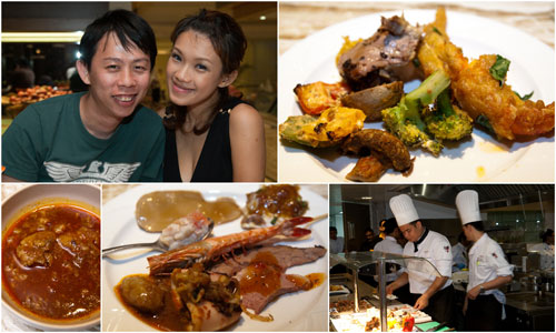 Haze and KY, and some of the stuff we ate at Zest, Marriott Putrajaya