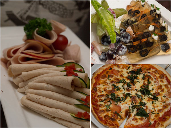 Selection from Tuscany Italian Restaurant & Pizza Bar, pizza anyone?