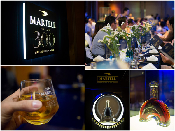 Martell is celebrating 300 years anniversary in 2015