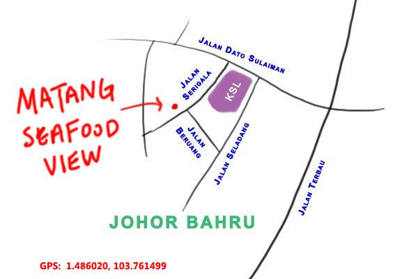 Matang Seafood View map