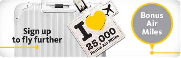 Maybank Cards 25,000 bonus air miles for sign up