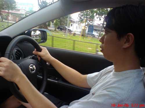 Mazda 6 2.3 liter test drive