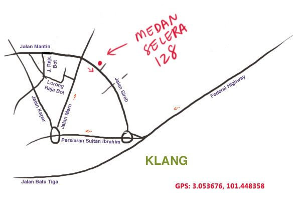 map to Medan Selera 128