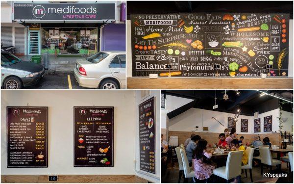 MEDIFOODS Lifestyle Cafe, Damansara Kim