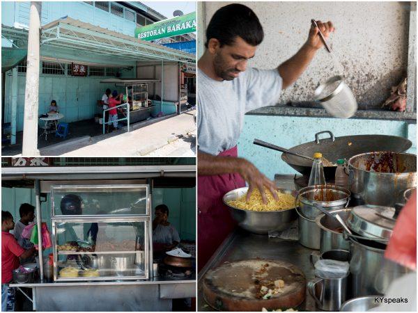mee goreng stall at Tanjung Bungah, Penang