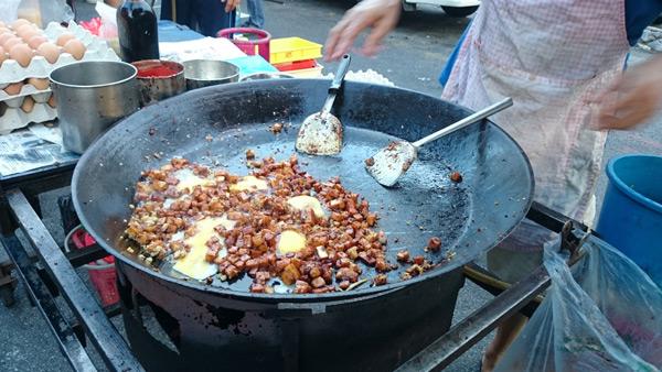 char kuih kak at Taman Megah Pasar Malam - legit!