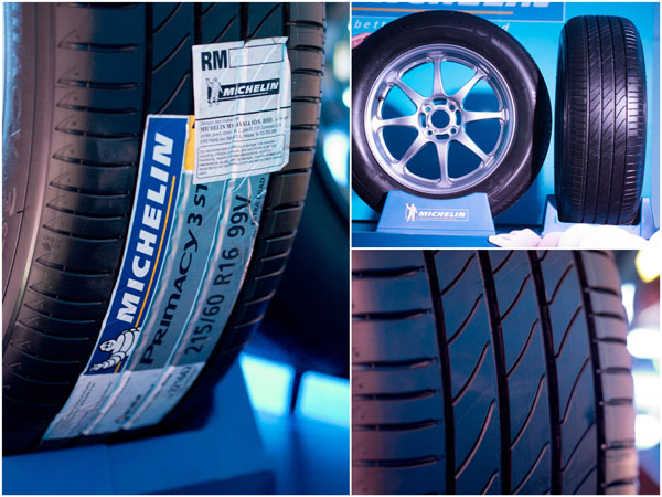 the all new Michelin Primacy 3 ST, with myriad of different technologies