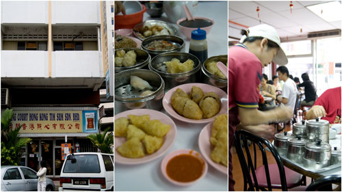 dim sum at Ming Court, Ipoh