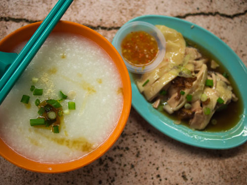 chicken porridge - simple comfort food