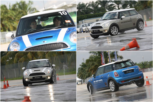 Mini Cooper S - driver training at Sepang