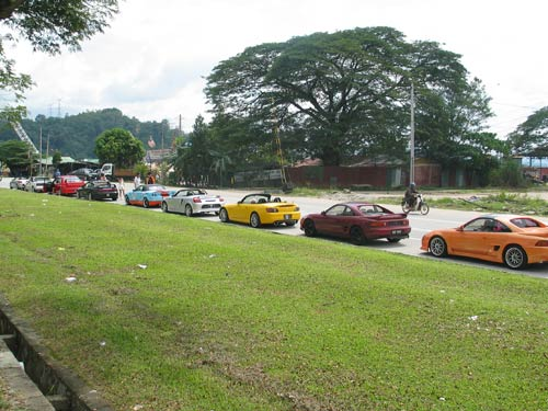 Toyota MR2 Convoy New Year 2006