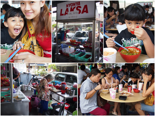 my niece is an asam laksa addict, just like Haze
