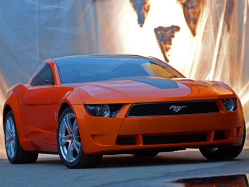 Ford Mustang Giugiaro 2006 Concept car at LA Auto Show