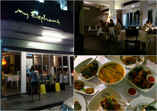 My Elephant Thai restaurant at PJ Seksyen 17
