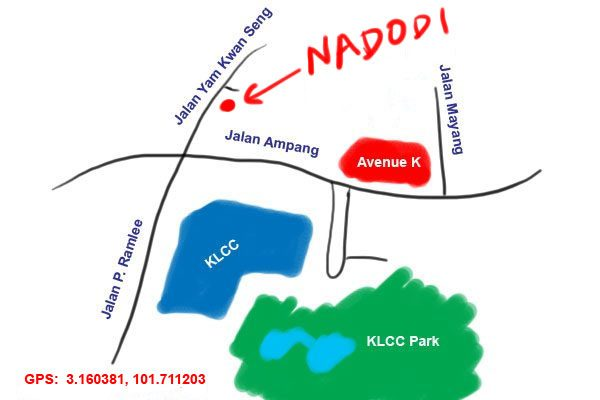 map to Nadodi KL