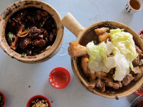 dry and soup bak kut teh, klang style