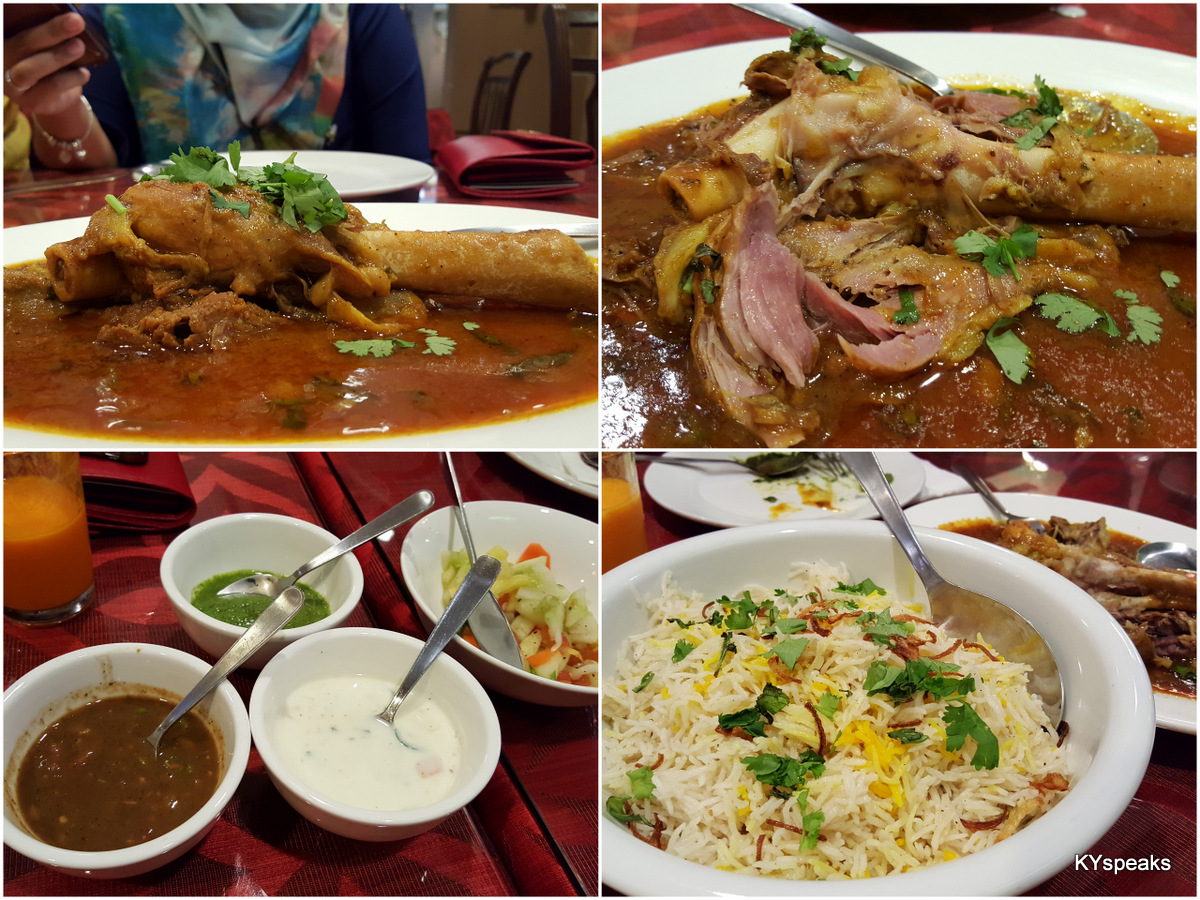 the lamb shank masala is a must-eat