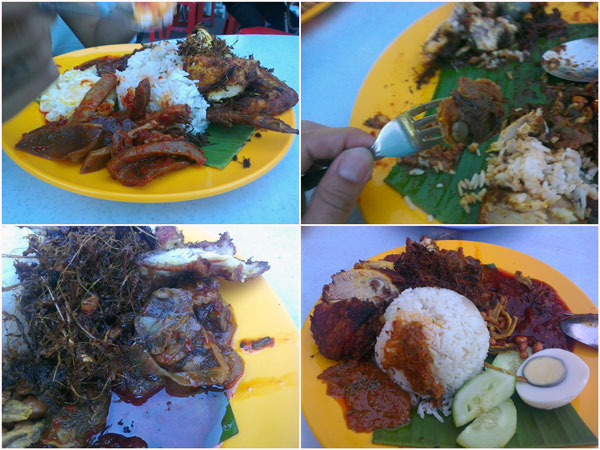 super delicious nasi lemak, at a fair price