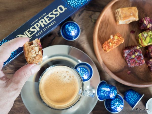 Nespresso Cafe Istanbul with Turkish Delight