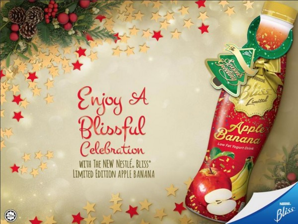 Enjoy A Blissful Celebration With The New Nestle Bliss Limited Edition Apple Banana